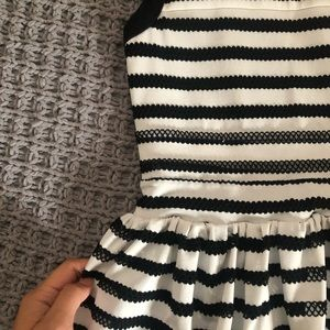 silence + noise Dresses - Black & White Dress from Urban Outfitters